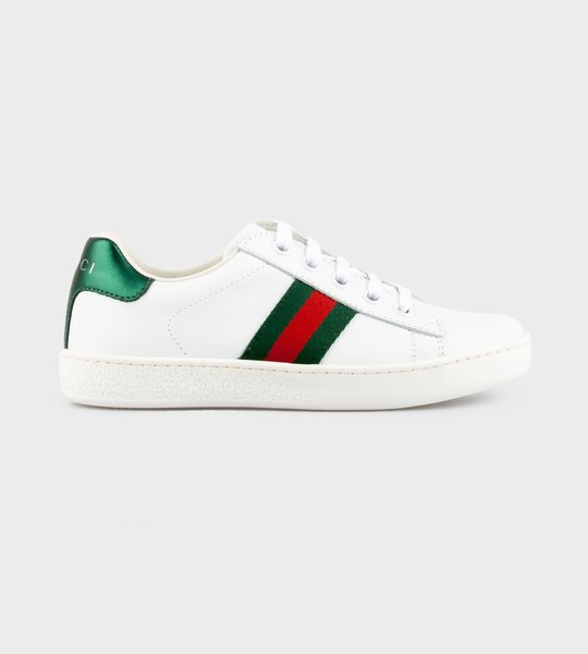 Ace Leather Sneaker White
