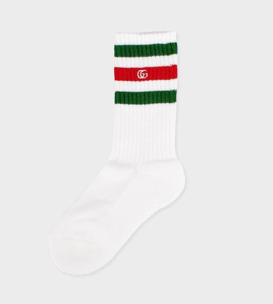 Cotton Sports Socks White