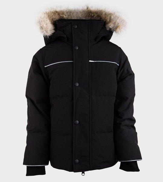 Snowy Owl Jacket Black