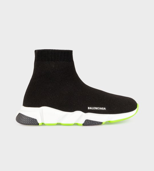Speed Sock Sneaker Neon Yellow/Black