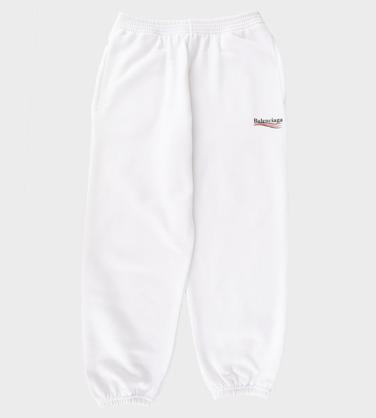 Logo Sweatpants White