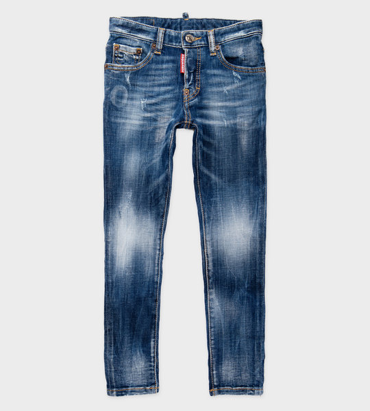 Denim Jeans Stonewash Blue Boys