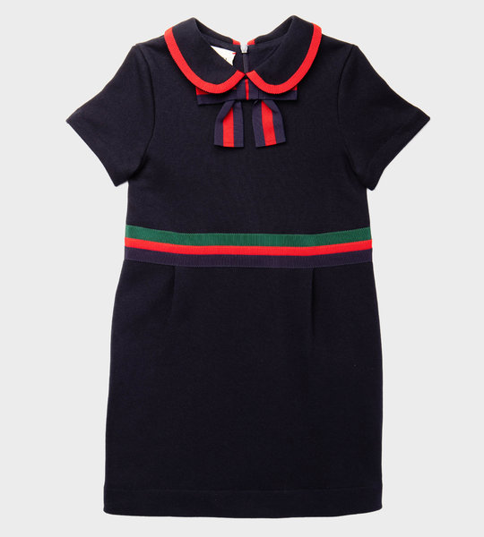 Web Dress Navy