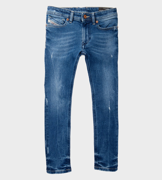 D-Slandy-High-J Jeans Girls Blue