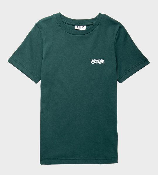 Circles Logo T-shirt Green