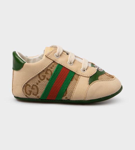 Baby Screener Sneaker Green