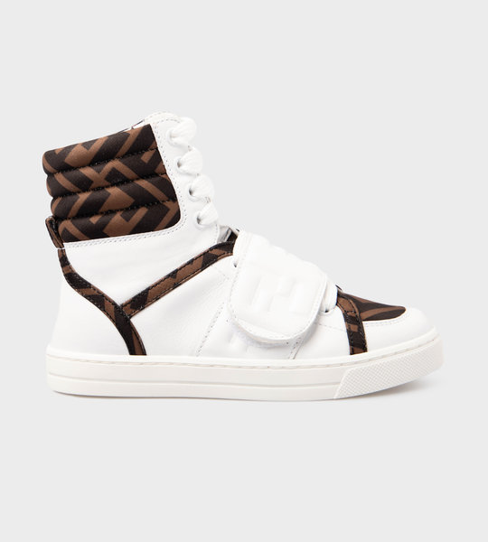 Hightop Logo Sneaker White