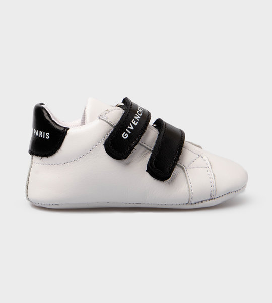 Baby Leather Sneaker White/Black