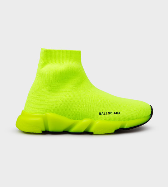 Speed Sock Sneaker Neon Yellow