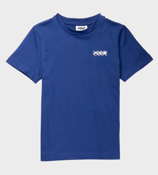 Circles Logo T-shirt Blue
