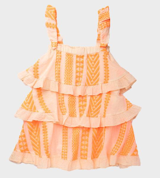 Layers Dress Orange