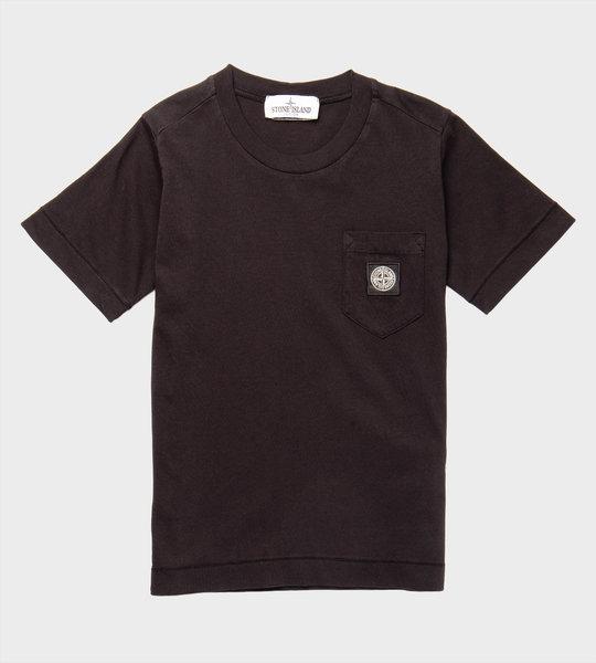 Compass Patch Pocket T-Shirt Black