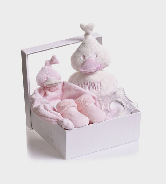 Baby 4 Pieces Giftbox Pink