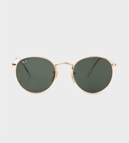 Junior Arista Sunglasses Gold/Green