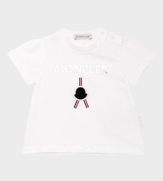 Baby Logo T-Shirt White/Silver