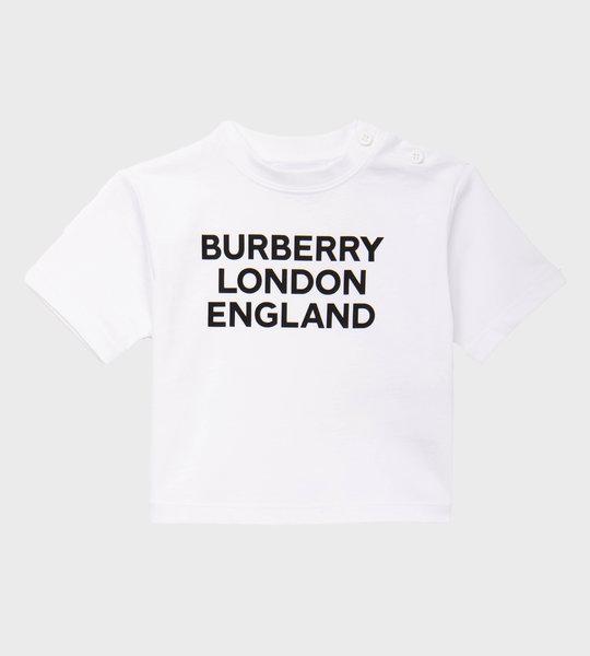 Baby Logo Print T-shirt White