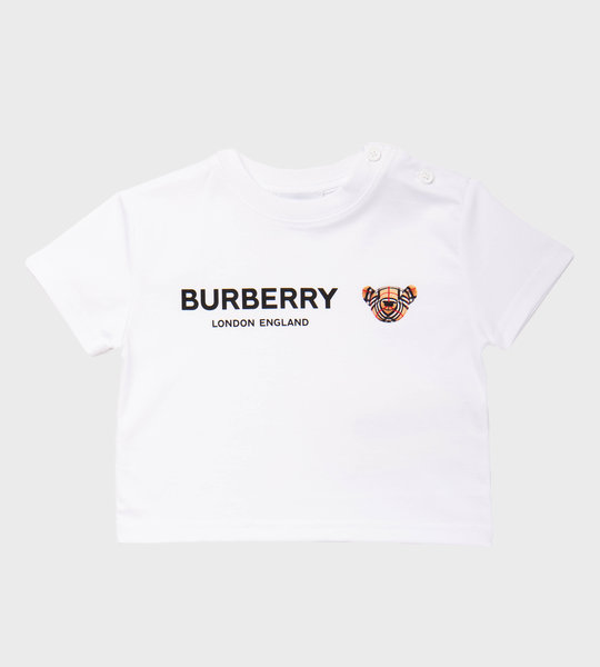Baby Thomas BearT-Shirt White