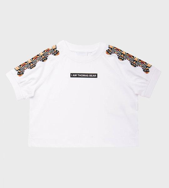 Thomas Bear T-Shirt White  Girls
