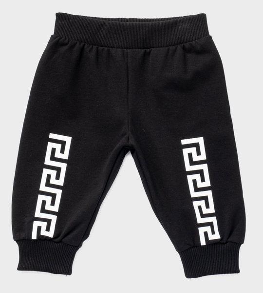 Baby Sweatpants Black/White