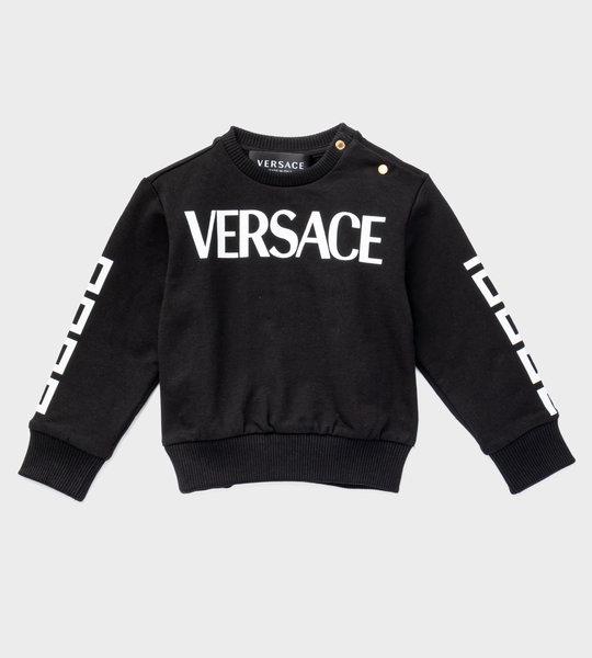 Baby Sweater Black/White