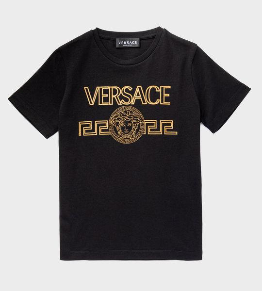 T-Shirt Logo Black/Gold
