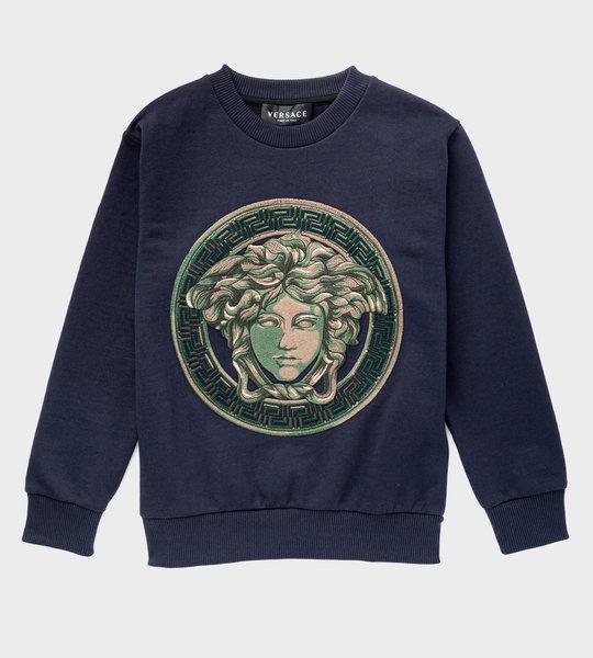 Medusa Sweatshirt Blue