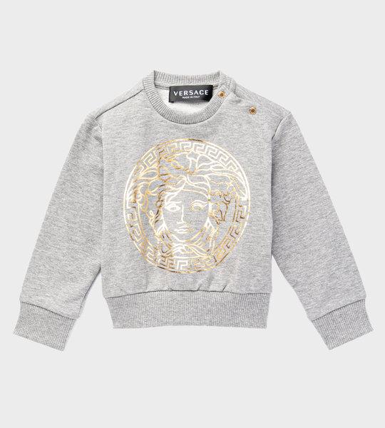 Baby Medusa Sweater Grey/Gold