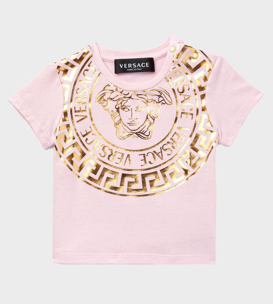 Baby Medusa T-Shirt Pink/Gold