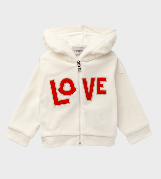 Baby Tracksuit Ivory/Red