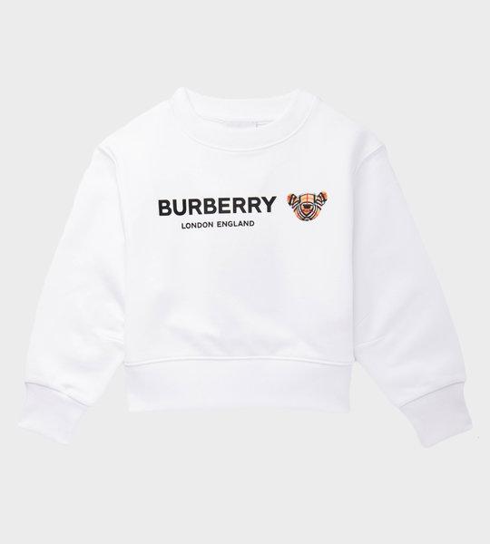 Thomas Bear Sweater White