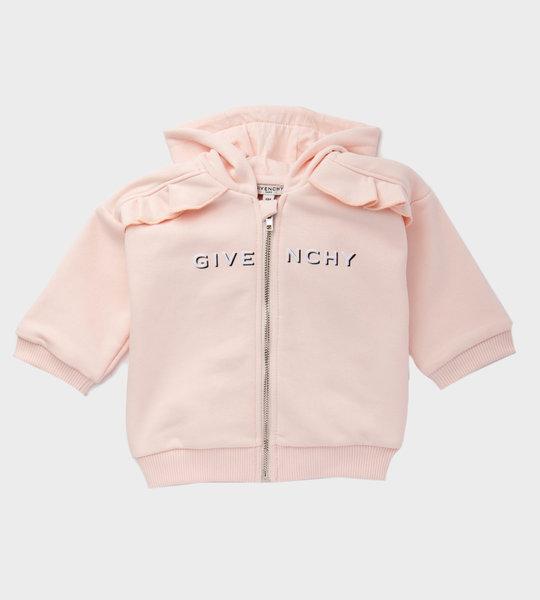 Baby Cardigan Ruffle Pink