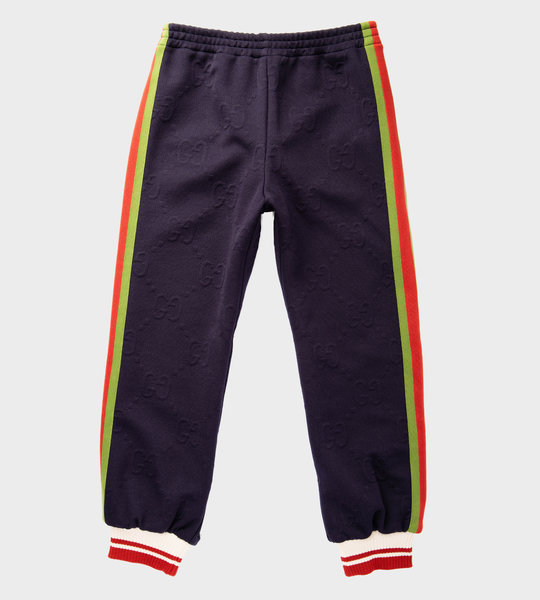 GG Vintage Logo Sweatpants Navy