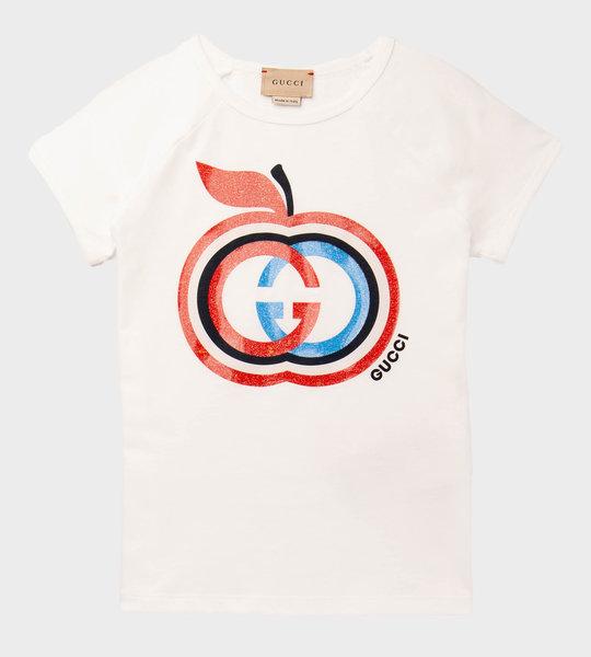 GG Apple T-Shirt Blue/Red