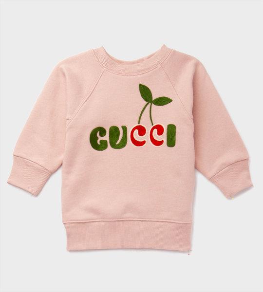 Baby GG Cherry Sweater