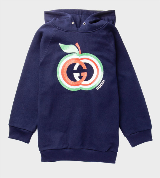 Apple GG Hoodie Navy