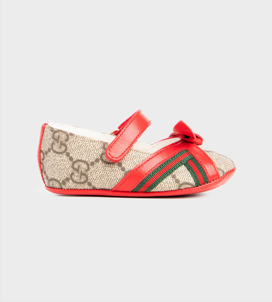 Baby GG Ballet Flats Red