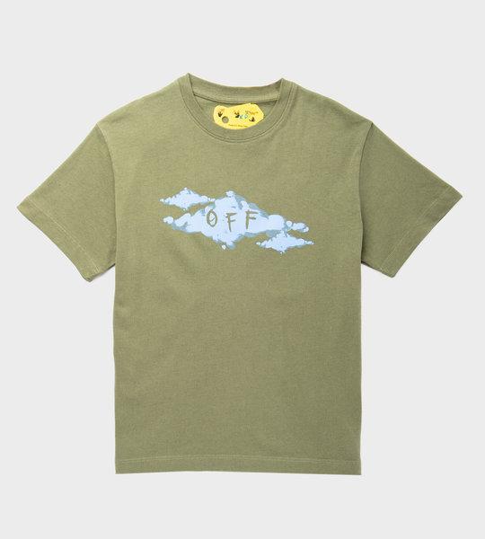 Clouds T-Shirt Green