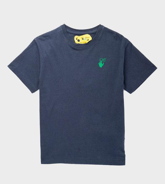 Flower Arrow T-Shirt Blue