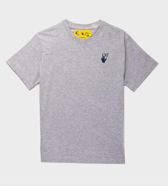 Flower Arrow T-Shirt Grey