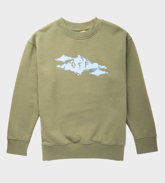 Clouds Sweater Green