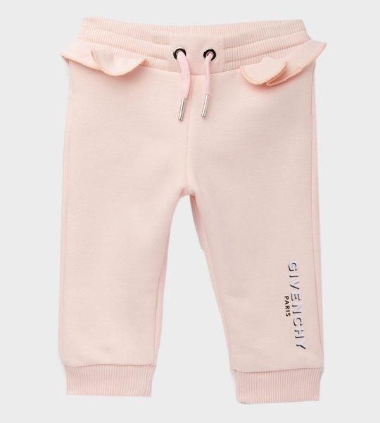 Ruffle Sweatpants Pink