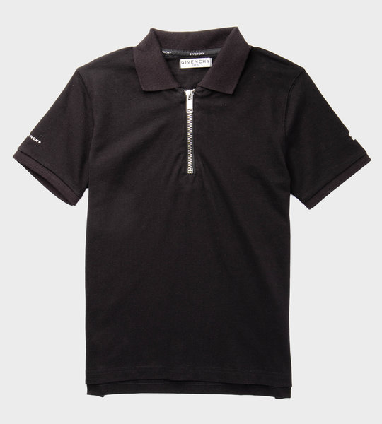 Polo Zipper Black