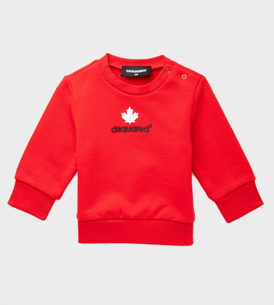 Baby Logo Sweater Red