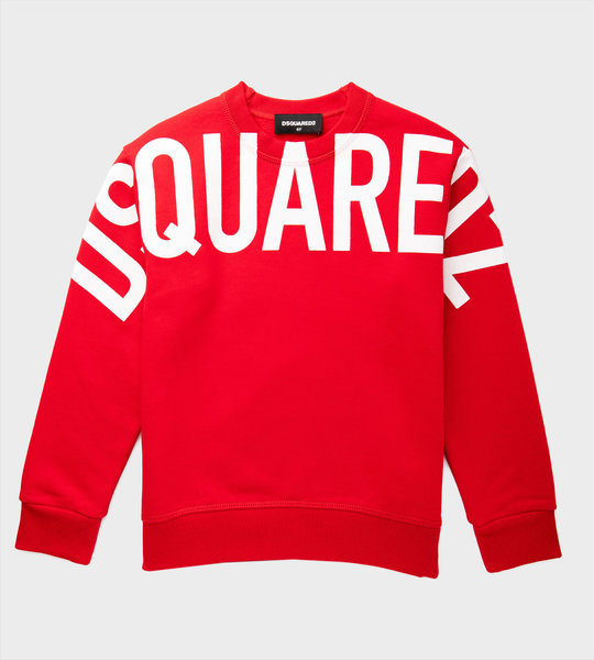 Logo Sweater Red