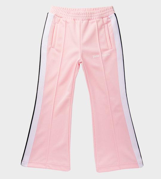Logo Flare Sweatpants Pink