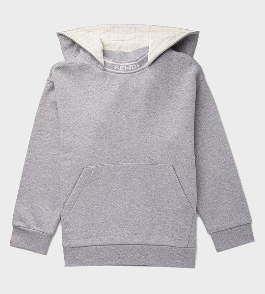 Logo Hoodie Grey