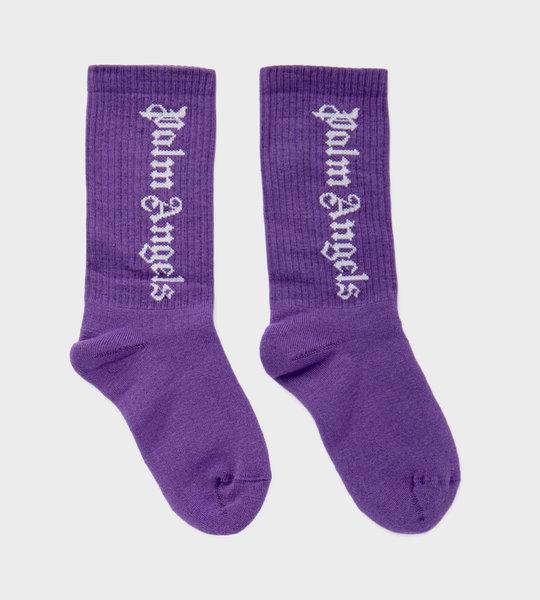 Logo Sock Purple