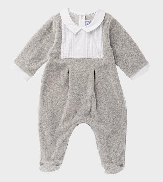 Bodysuit Embroiderd  Grey