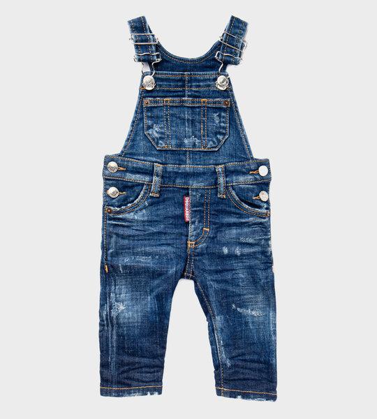 Baby Denim Overalls Blue