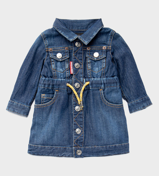 Baby Denim Dress Blue